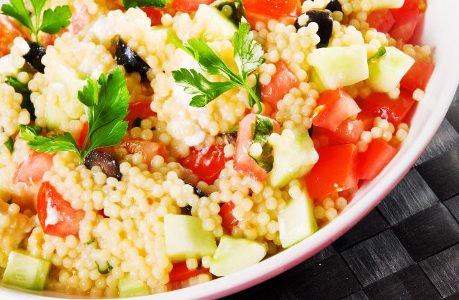 Balsamic Couscous Salad