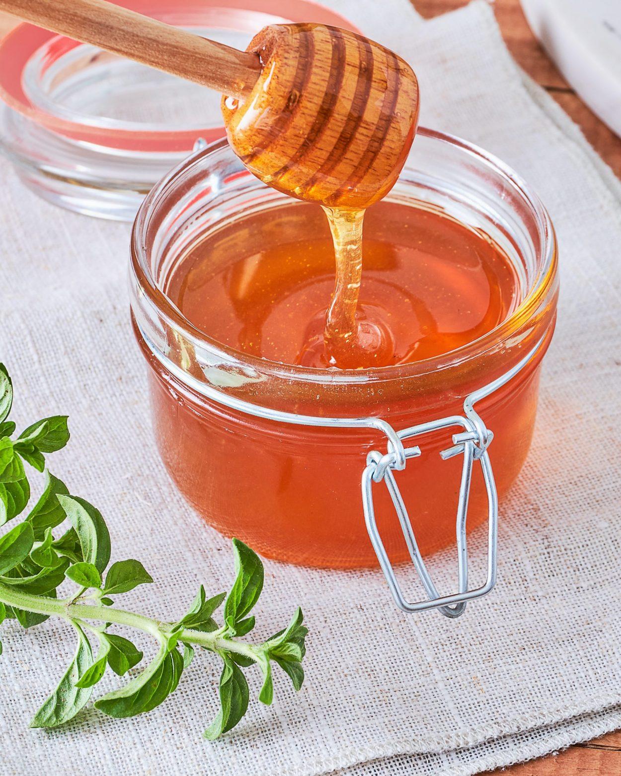 Chai Spiced Honey in a Jar