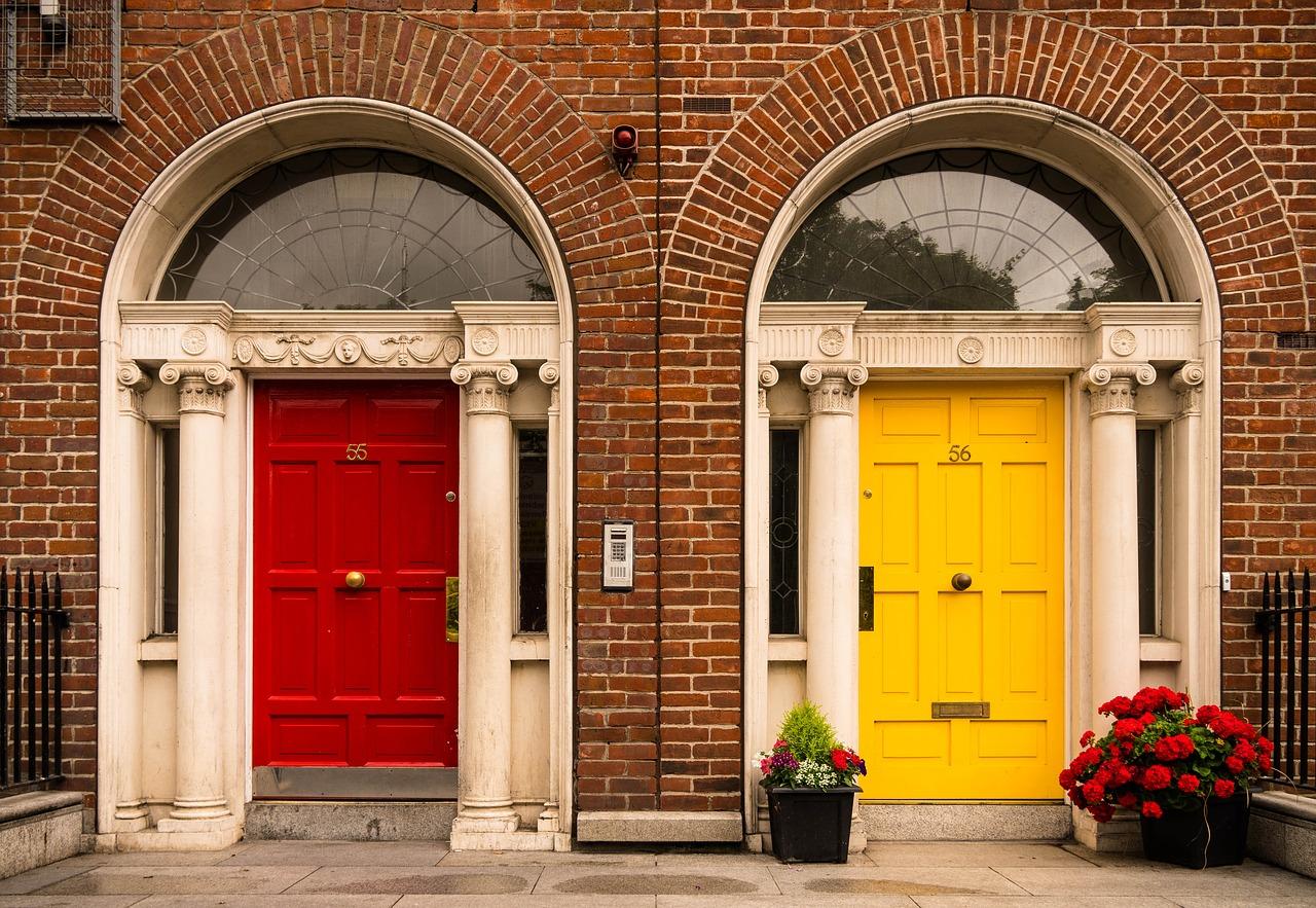 Colorful Doors of Dublin