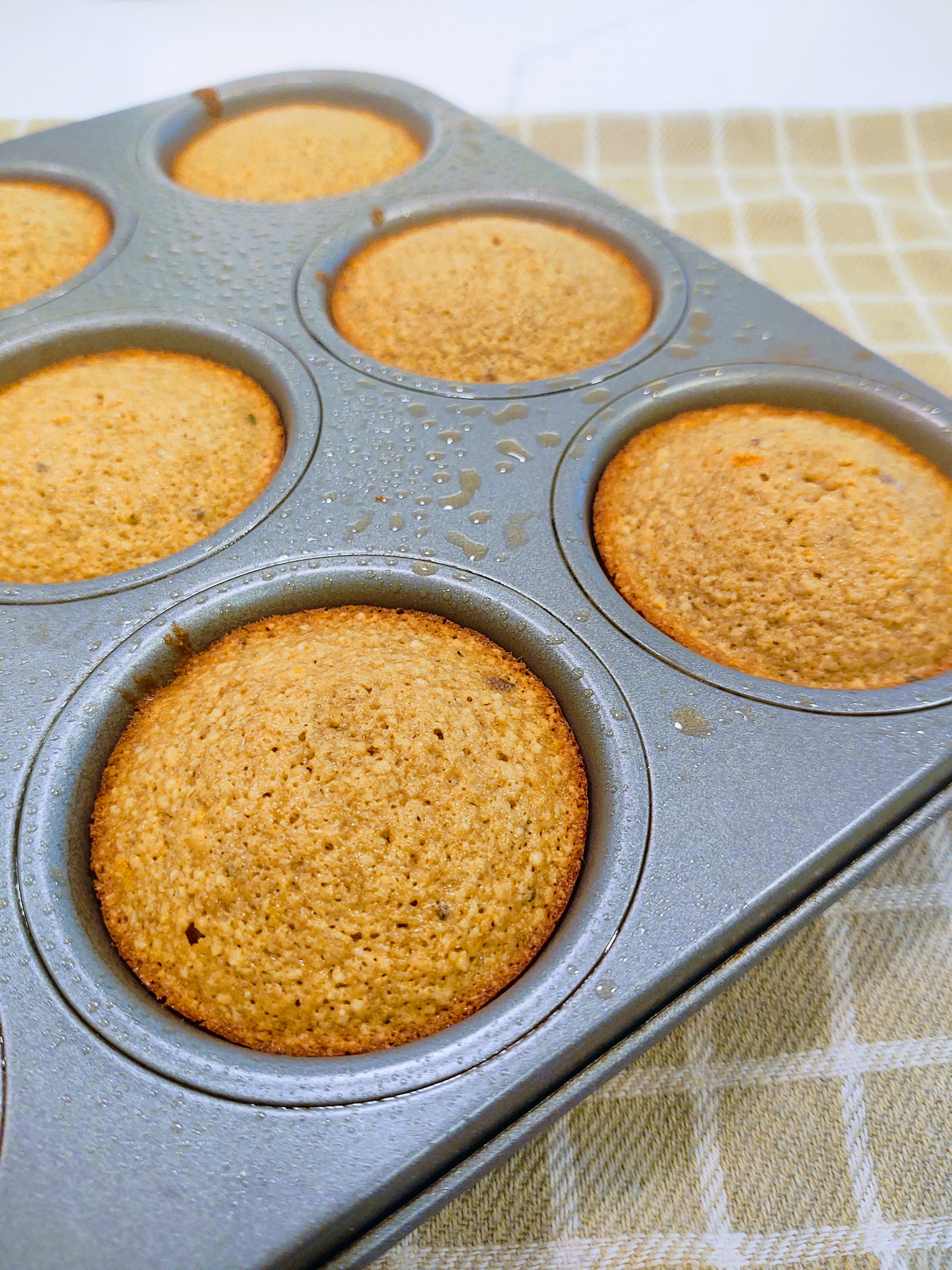 Lemon Chia Oat Muffins