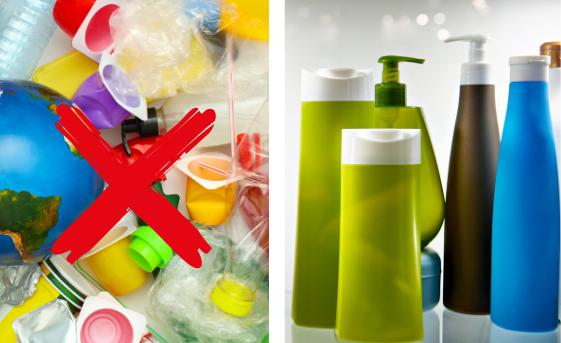 Reduce Plastic Shampoo Bottles