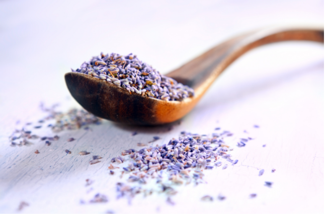 DIY Gentle Lavender-Oats Cleansing + Exfoliating Grains